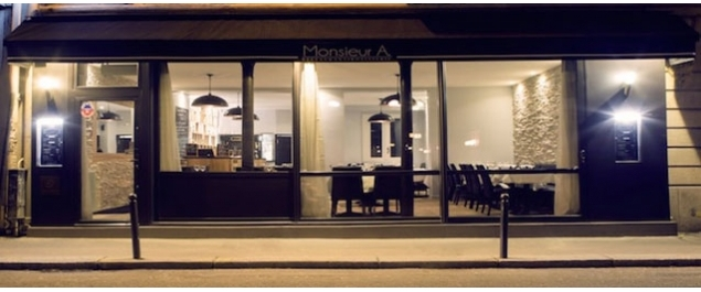 Restaurant Monsieur A - Paris