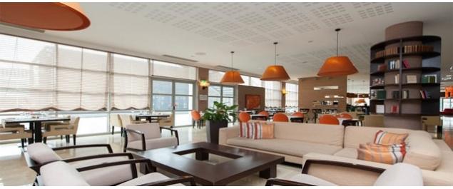 Restaurant Nhube restaurant (NH Lyon Airport hotel) - Lyon St Exupéry Aéroport