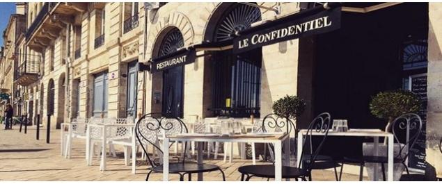 Restaurant Le Confidentiel - Bordeaux
