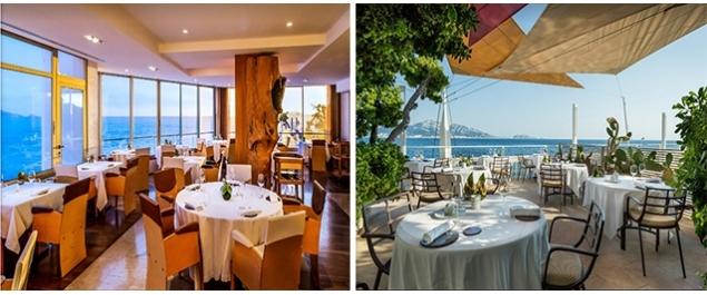 Restaurant Le 1917 (Hôtel du Petit Nice*****) - Marseille
