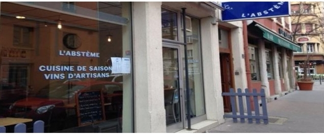 Restaurant L'absteme - Lyon