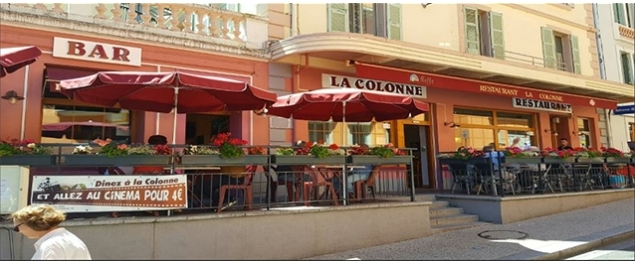 Restaurant La colonne - Bellegarde-sur-Valserine