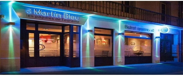 Restaurant Au Martin Bleu - Tours,