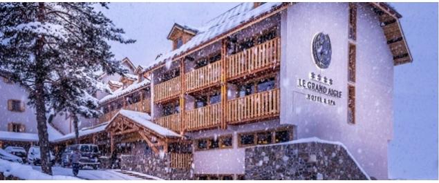 Restaurant Le Grand Aigle**** - La Salle-les-Alpes