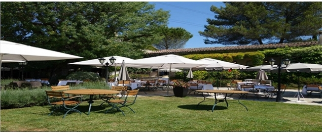 Restaurant le jardin hotel de mougins m diterran en for Le jardin mougins