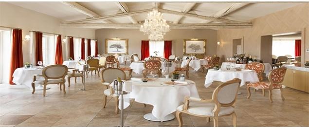 Restaurant Le bistrot du mas (Le Mas des Herbes Blanches*****) - Joucas
