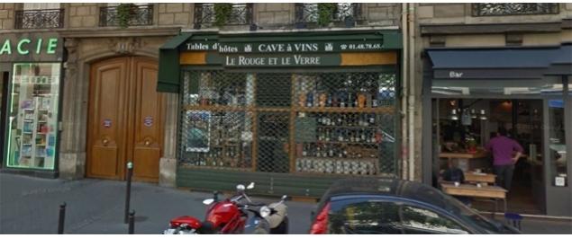 Restaurant Le Rouge et le Verre Turin - Paris