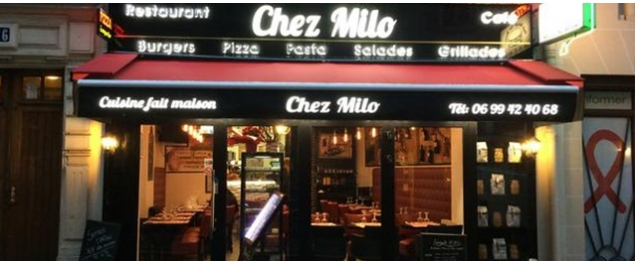 Restaurant Chez Milo - Paris