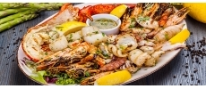 Feyrouz côté mer Poissons et fruits de mer Paris