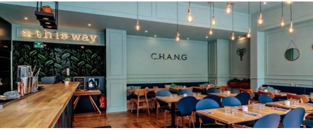Restaurant C.H.A.N.G - Paris