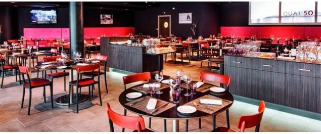 Restaurant Quai 50 (Hôtel Lyon Ouest ***) - Lyon