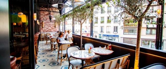 Restaurant Au Bureau Commerce - Paris