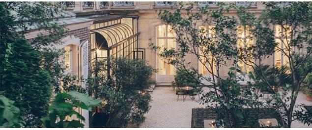 Restaurant Les Caryatides (Hôtel Alfred Sommier *****) - Paris