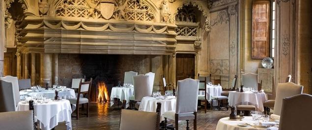 Restaurant Le 1217 * (Le Château De Bagnols *****) - Bagnols